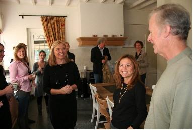 Drs Lynn en Robert Koegel bezoeken Het Robertshuis